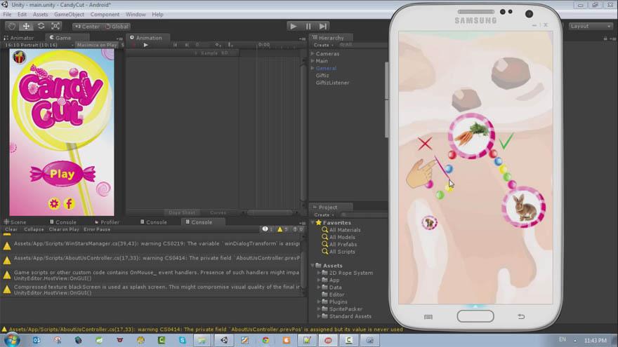 专家级Unity3D  2D 游戏从头到尾开发教程