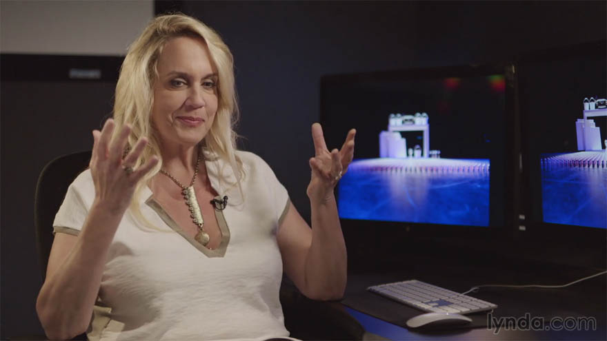 Lynda - 游戏设计师 Brenda Romero 的见解(英文访谈,不涉及软件)