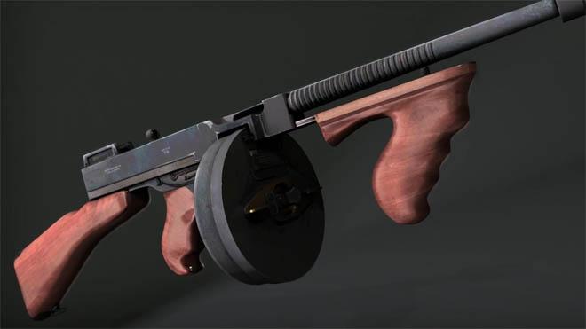 Digital Tutors - 在3ds Max2013创建游戏中使用的冲锋枪