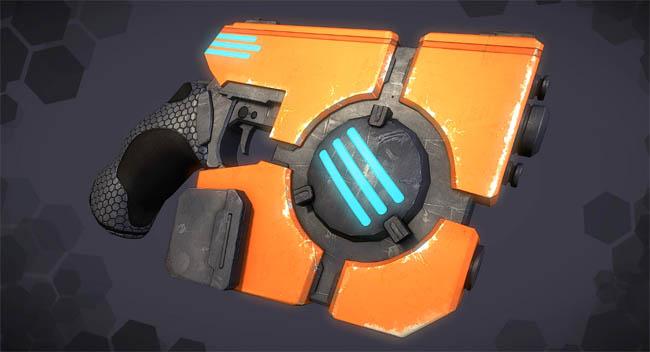 3dmotive-制作科幻手枪工作流程-1-3