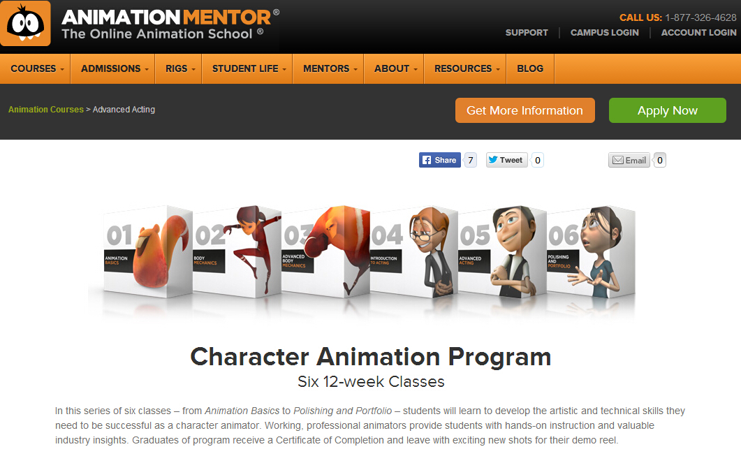 全球最屌在线动画学校【AnimationMentor class 5:Advanced Acting】