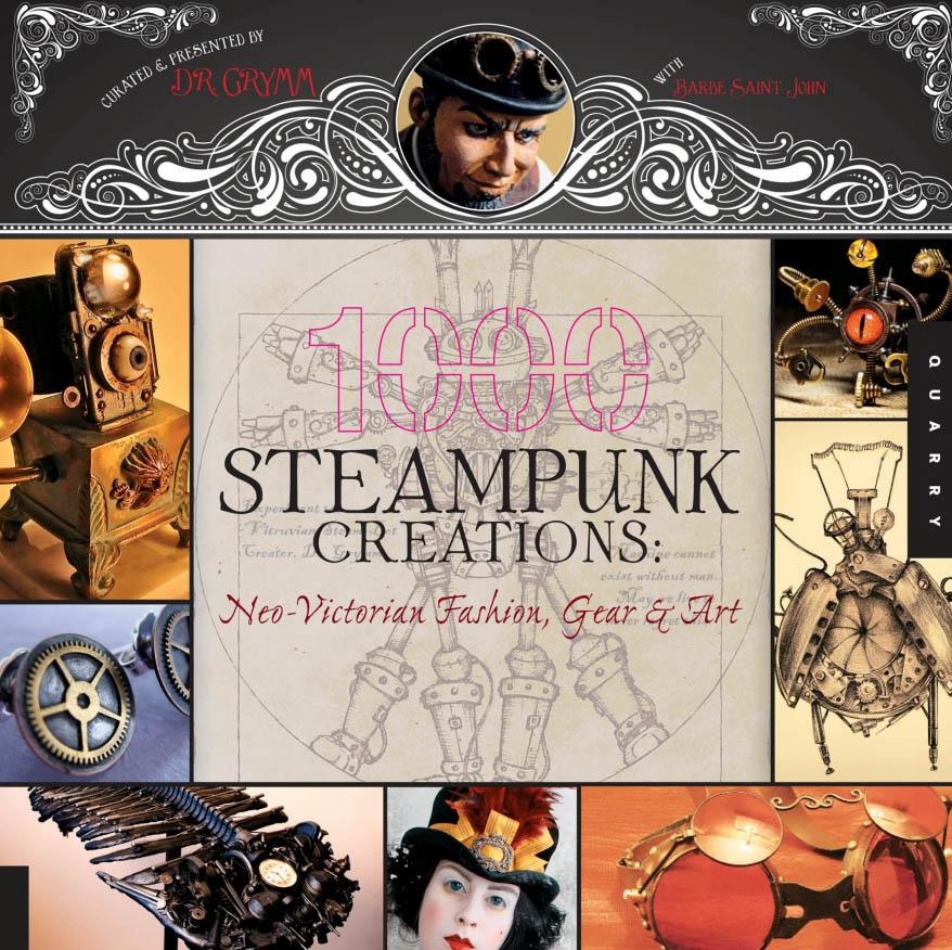 Grymm - 1000张蒸汽朋克创作:新维多利亚时尚,齿轮和艺术