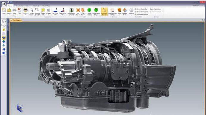 三维 CAD 转化软件TransMagic Expert