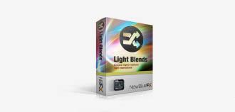 视频后期光线效果的138个预置10个插件 NewBlueFx LightBlends 3.0 MacOSX