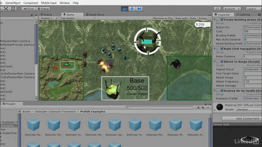 Lynda - Unity 5 创建一款即时战略游戏教程