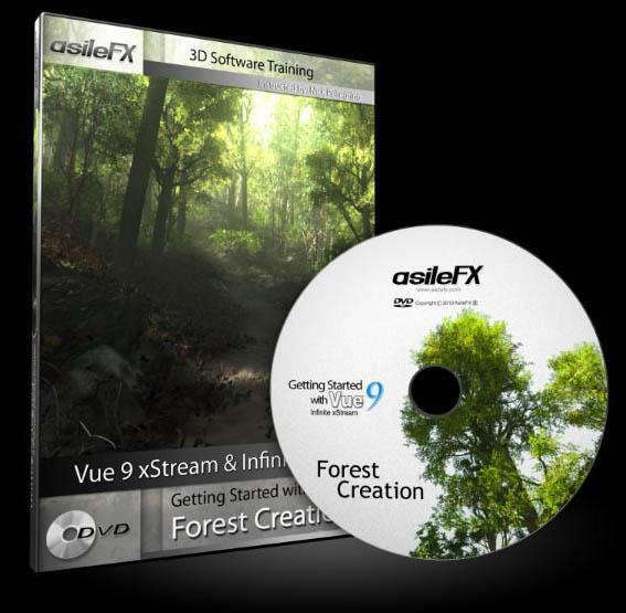 asileFX - Vue 9 森林创作入门
