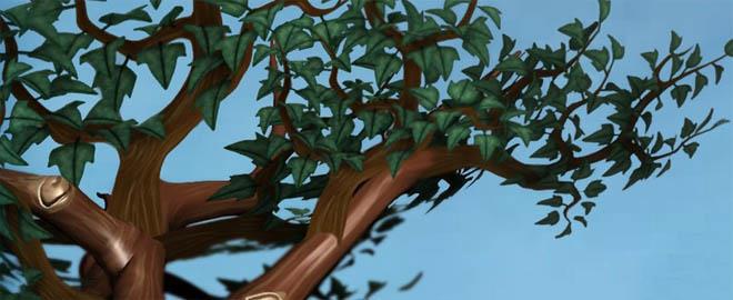 Digital Tutors - 在3ds Max和Mudbox中为游戏创建植物