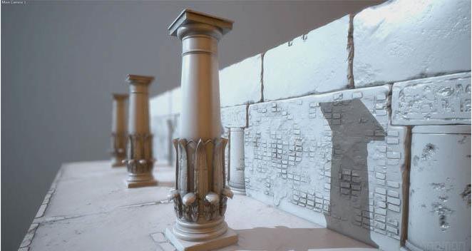 The Gnomon Workshop - 游戏场景环境建模和刻画教程