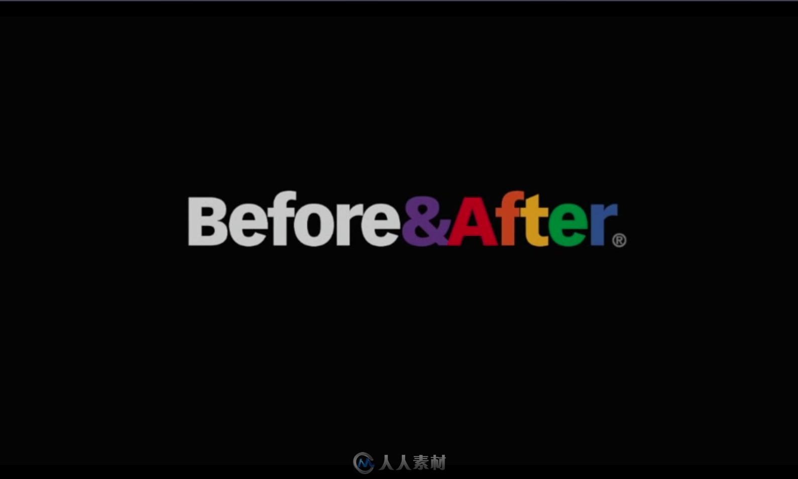 before after 平面版式设计