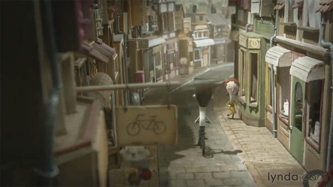 Lynda - 两个世界之间的创意火花:微拍动画