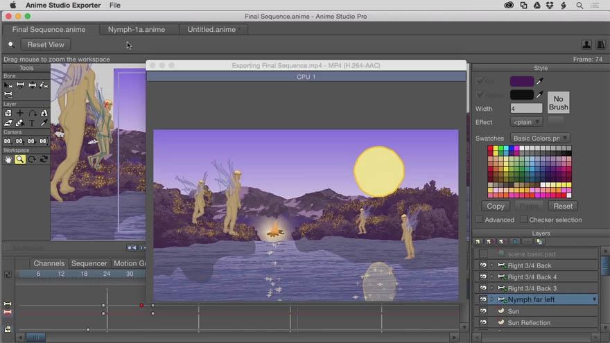 InfiniteSkills - Anime Studio Pro 11动画学习教程