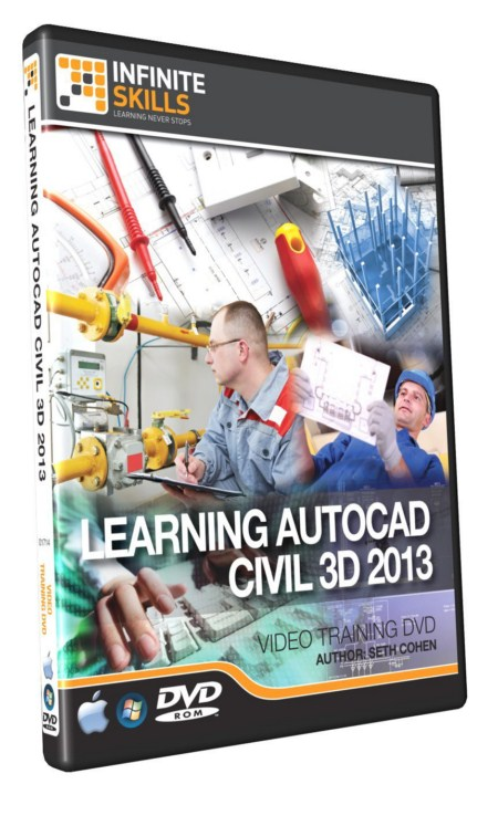 InfiniteSkills – Learning AutoCAD Civil 3D 2013 Training Video