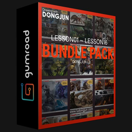 Gumroad Lu Dongjun Bundle Pack