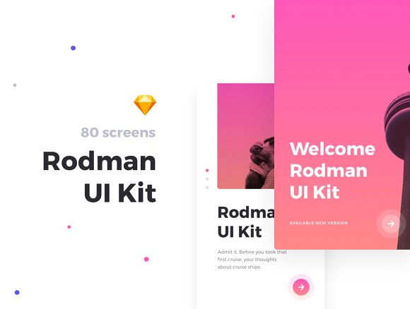 Rodmap Mobile UI Kit