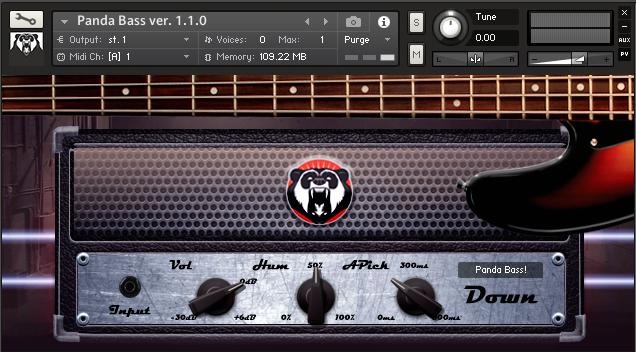 Panda Sound Panda Bass v1.2.0 KONTAKT | 602 Mb