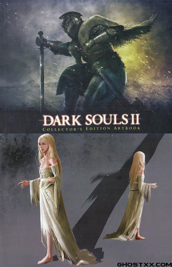 Dark Souls 2 Artbook,黑暗灵魂2画集