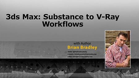 Lynda – 3ds Max: Substance to V-Ray