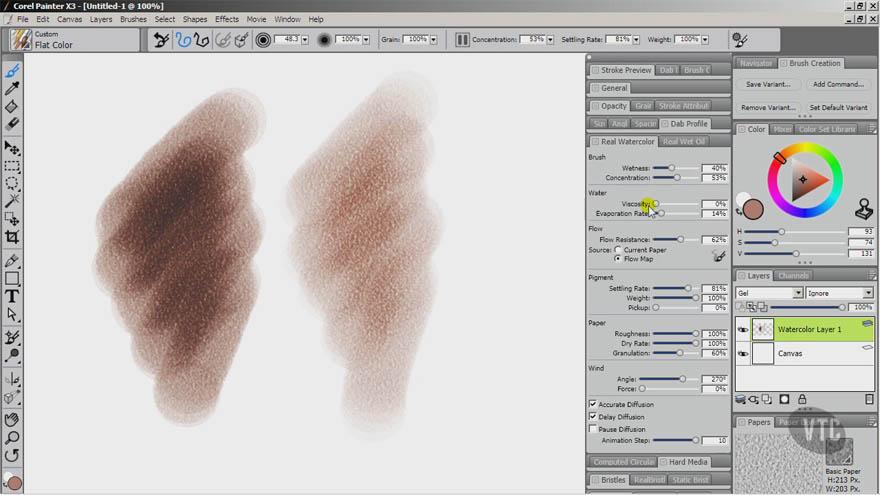 VTC - Corel Painter X3 高级教程