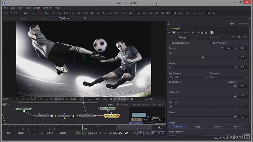 Fusion: Creating Motion Graphics