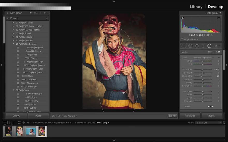 lightroom摄影照片后期处理教程