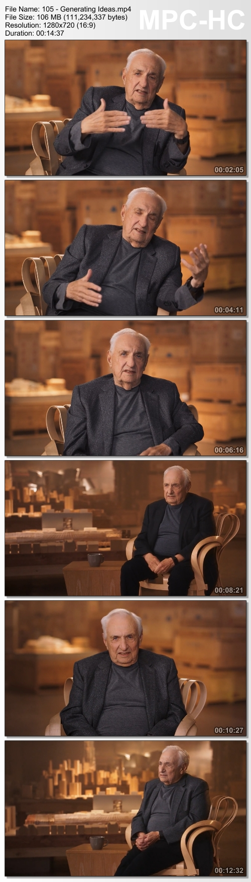 MasterClass - Frank Gehry Teaches Design and Architecture