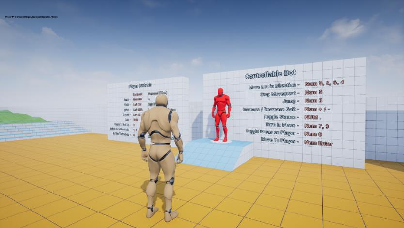 Advanced Locomotion V3 UE4.19 – 虚幻引擎4高级动画蓝图