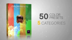 50 Color Presets - Ultimate Pack - Premiere Pro Templates 78633