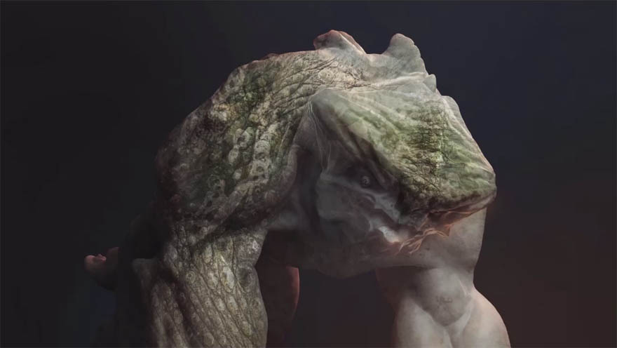 FlippedNormals - ZBrush & Modo 生物概念设计教程
