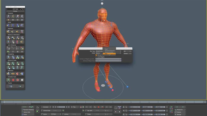 The Foundry - MODO Automatic Character Setup (ACS) 2 kit