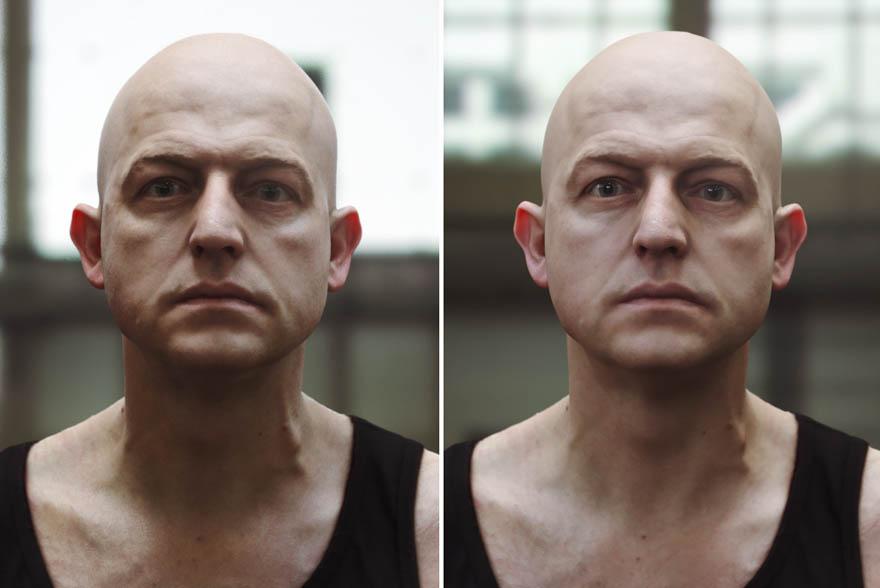 TEN24 网站的一个人头模型,包括材质和贴图,lxo和obj格式。