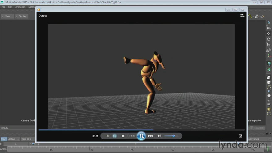 Lynda - MotionBuilder 入门及提高教程