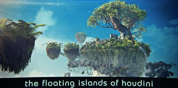 Rohan Dalvi - Floating islands of Houdini- 3 parts