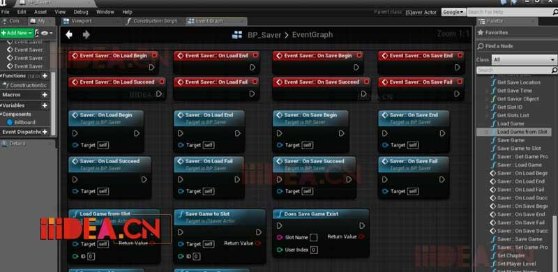 UE4 SaviorPlugin 4.19 – 虚幻引擎4通用保存游戏系统