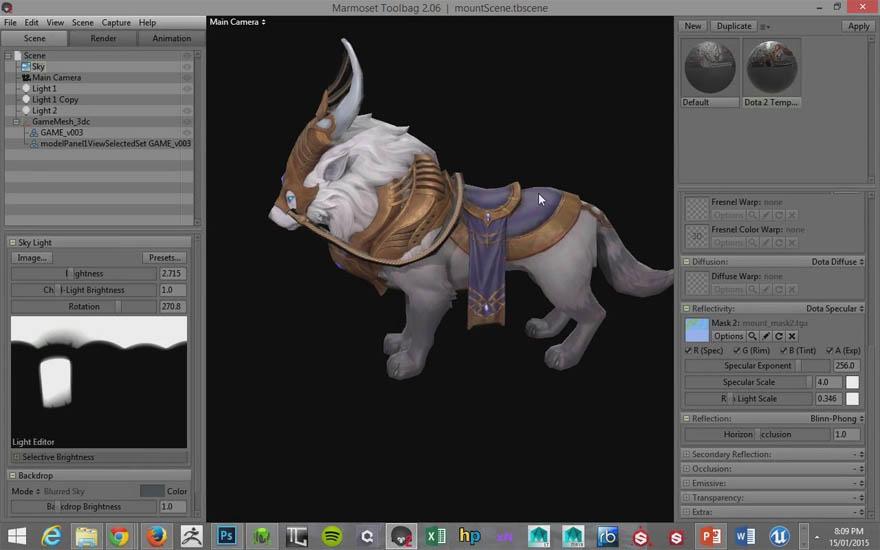 Uartsy - 创建一个 MMO 游戏角色模型