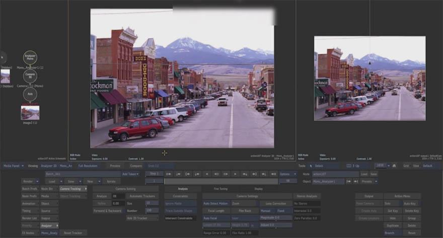 cmiVFX - Autodesk Flame 软件后期移除视频中的物体教程