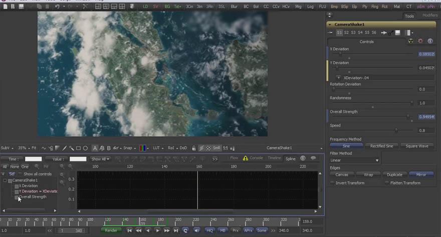cmiVFX - Fusion 制作地球推进镜头动画教程