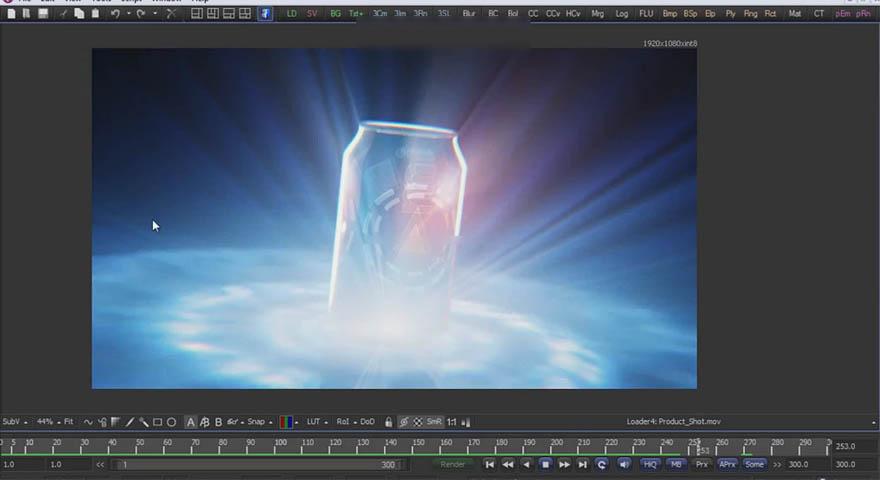 cmiVFX - Fusion 商业产品展示动画