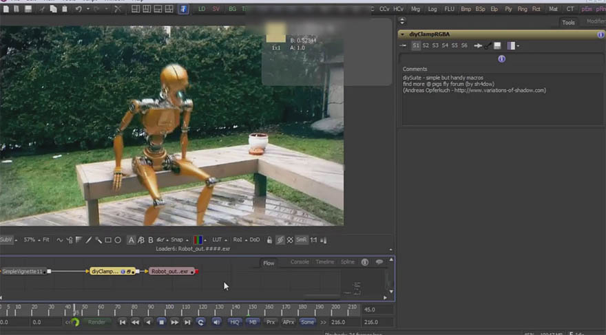 cmiVFX - Fusion 三维实景合成教程