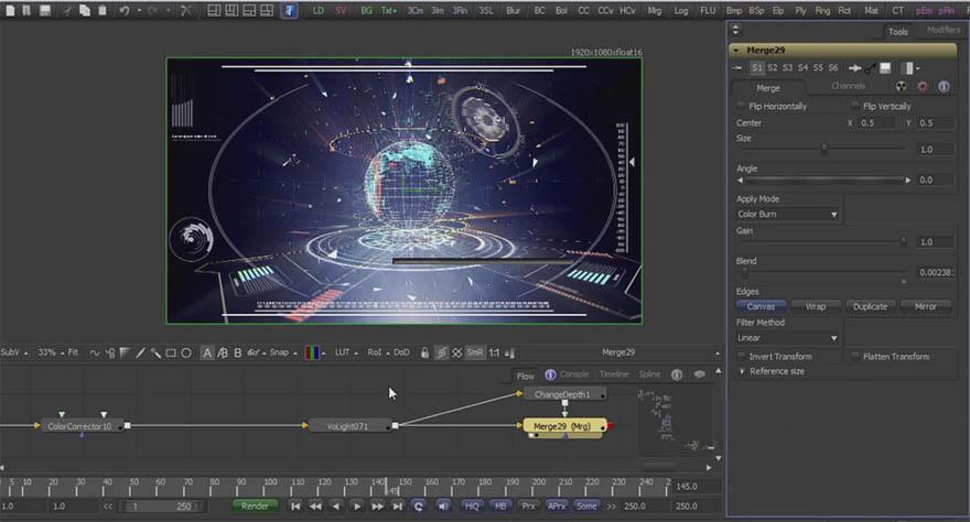 cmiVFX - Fusion 抬头显示器屏幕设计教程