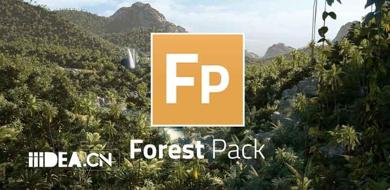3DMax树木插件 – ForestPack Pro 6.3.0 For 2020-2021