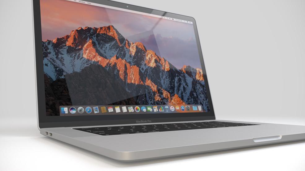 专业高端笔记本 苹果笔记本C4D模型 macbook pro 3d model
