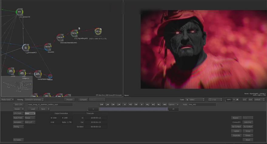 cmiVFX - Autodesk Smoke 后期效果合成教程