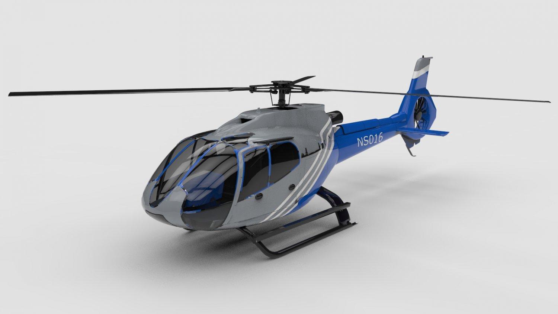 直升机C4D模型 Generic helicopter