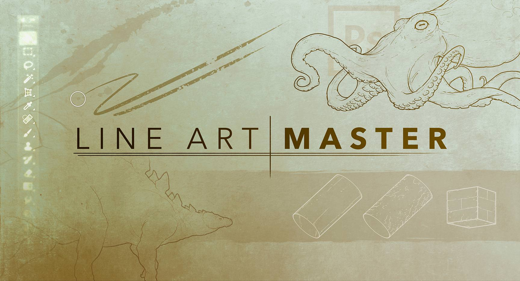 Udemy – Line Art Master 线条艺术大师 手绘课程