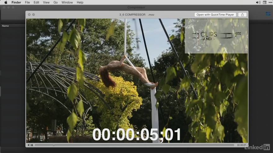 Lynda - Final Cut Pro X 大师教程:视频的压缩导出