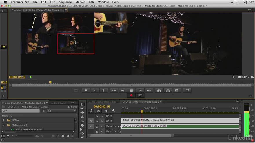 Lynda - 数码单反相机视频处理软件技巧