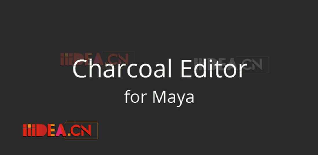 Charcoal Editor 2 Maya 2018 Win v2.0.1