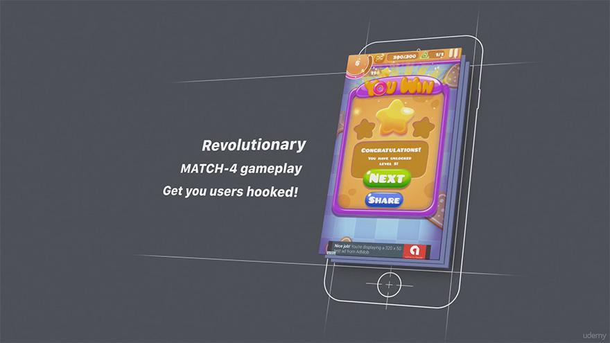 Udemy - unity iOS游戏开发者指南-糖糖危机