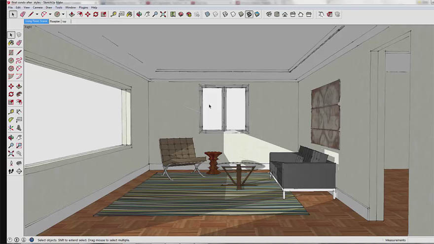 Udemy - SketchUp BootCamp Creating Interiors with SketchUp