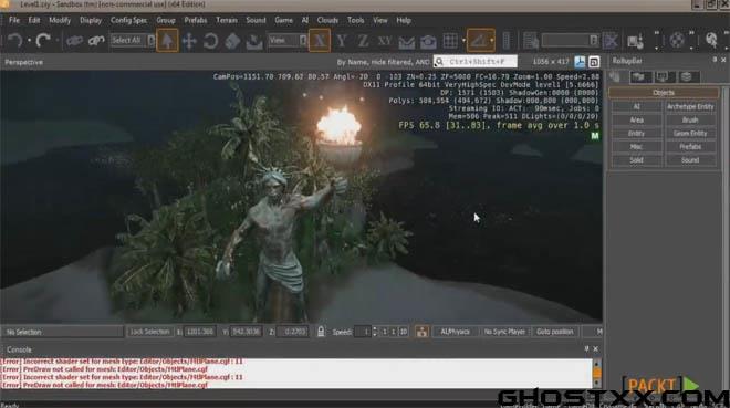 Packtpub - CryENGINE 3 SDK的关卡设计